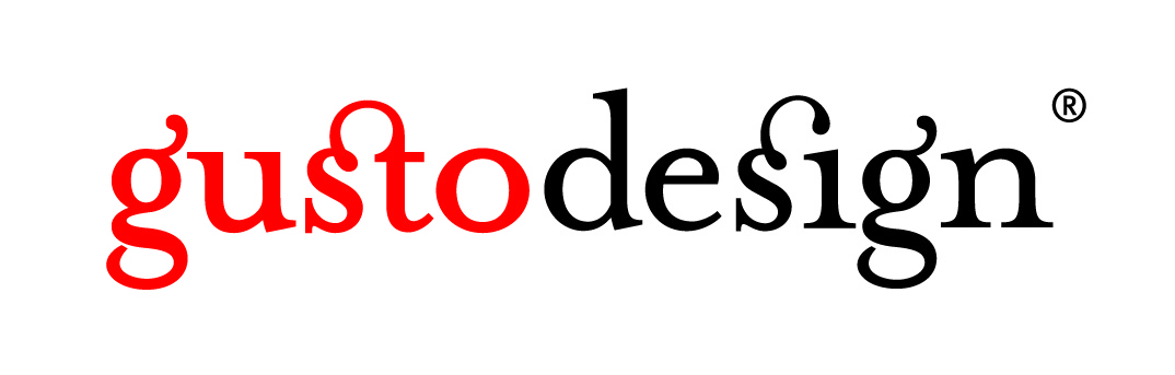 Gusto Design Logo