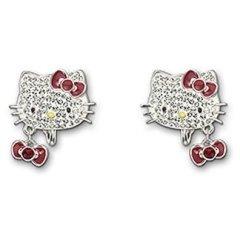 Hello Kitty Clip Earrings