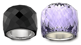 anelli in cristallo