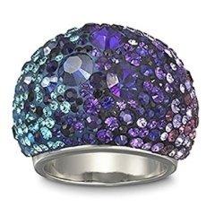 Chic Purple Blue Ring