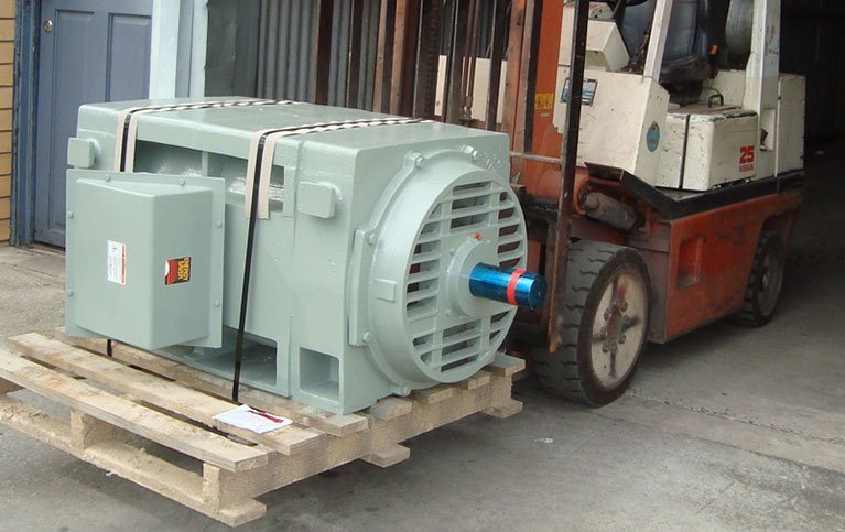 Electric motor after generator repair in Adelaide