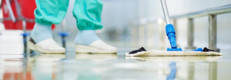 La pulizia dei pavimenti a Trieste