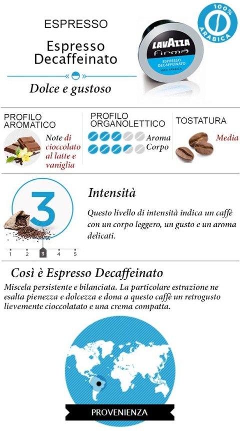 Cialda Lavazza Firma Espresso Decaffeinato
