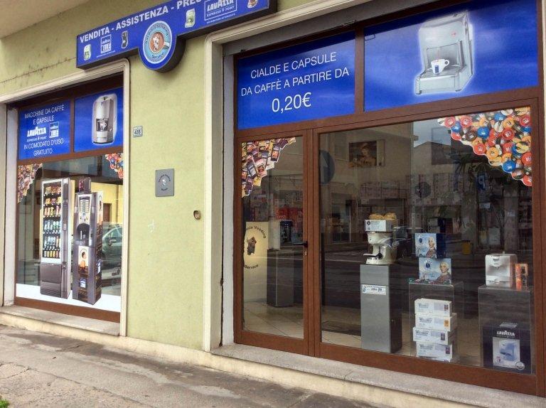 Showroom Sardinia Vending Service