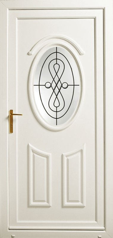 white coloured door
