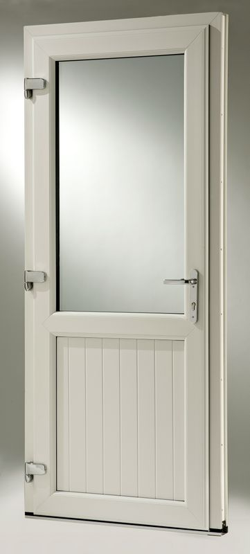 beige coloured door with glass