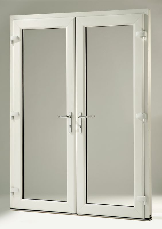dual doors with dual latches