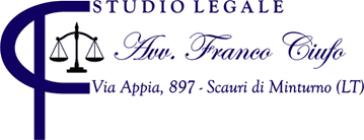 STUDIO LEGALE CIUFO AVV. FRANCO - LOGO