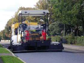 Machine laid tarmacadam - Carlisle - D Tolson & Sons - Tarmac Specialists