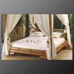 letto bamboo, camera