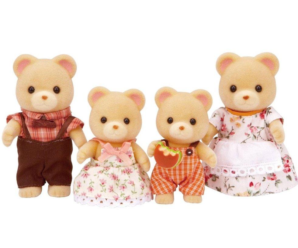 famiglia orsi sylvanian families
