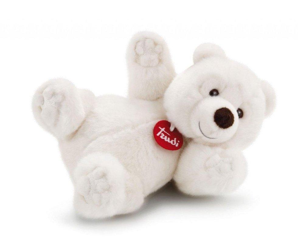orso bianco peluche trudi roma