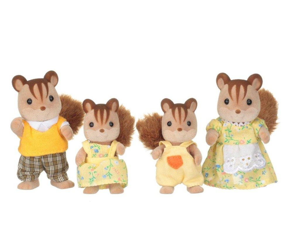 sylvanian families scoiattoli