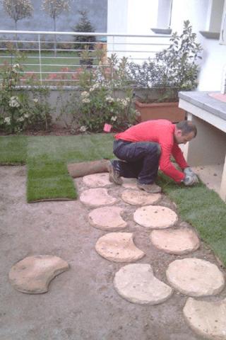 Manto erba sintetica
