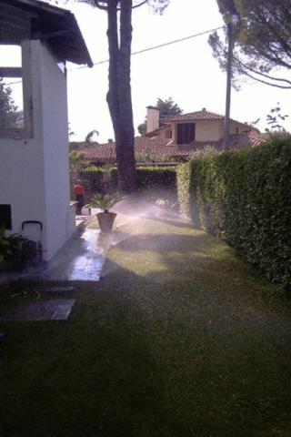 Irrigazione erba
