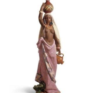 LLADRO gres donna africa