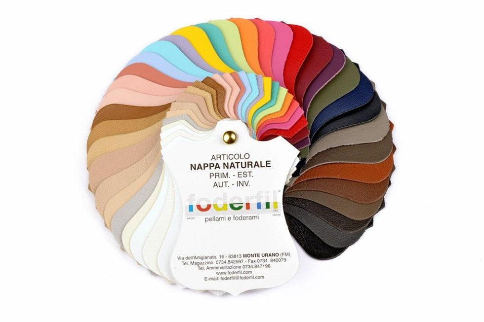 NATURAL NAPA COLOUR CHART