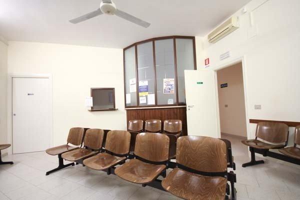 sala aspetto studio medico