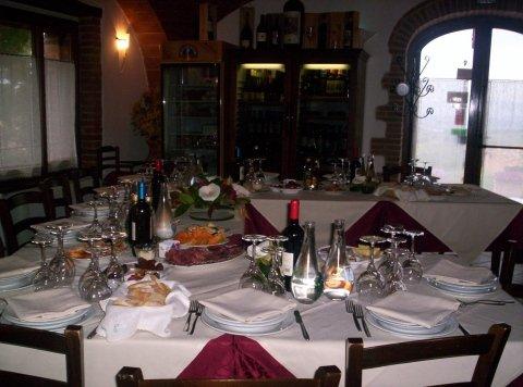 Ristorante con sala per cerimonie e banchetti
