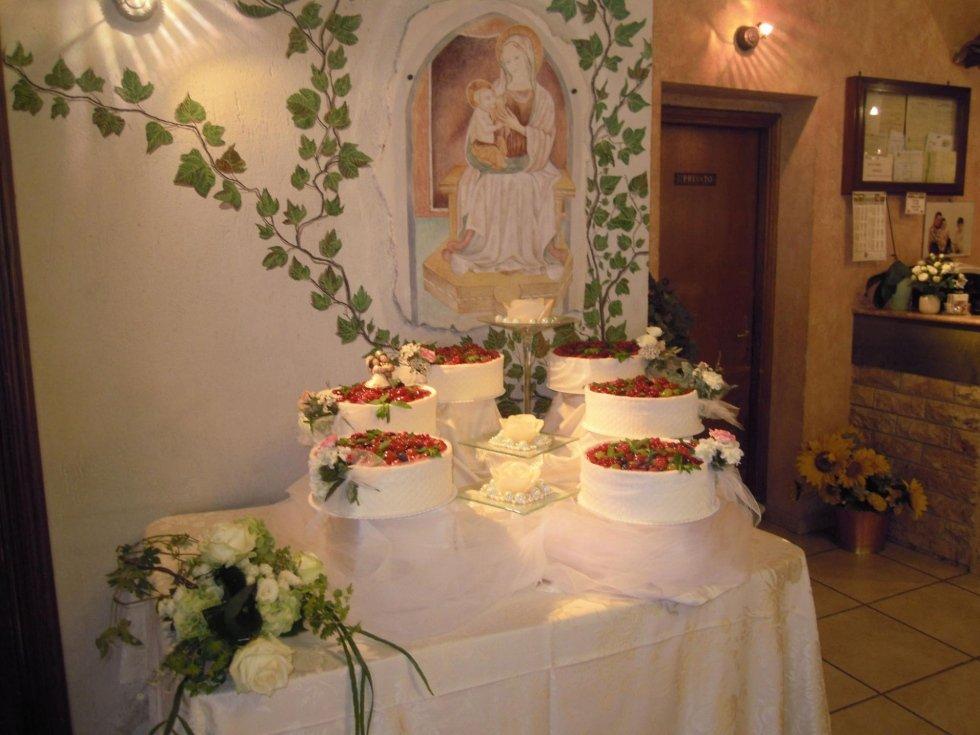 banchetto per matrimoni