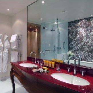 Arredo bagno hotel, bagno hotel, arredo moderno hotel, arredamento bagno per hotel