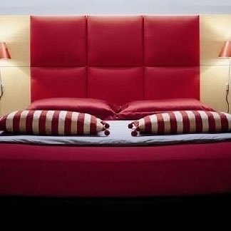arredo camera rossa