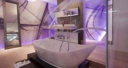 Arredamento bagno hotel, arredo bagno hotel, arredo bagno moderno, bagno hotel moderno