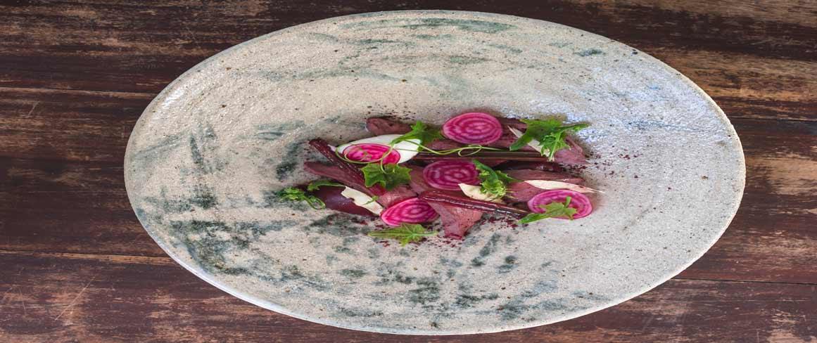 radish platter