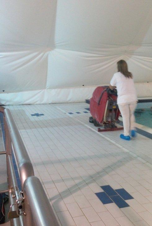 Igienizzazione di piscine