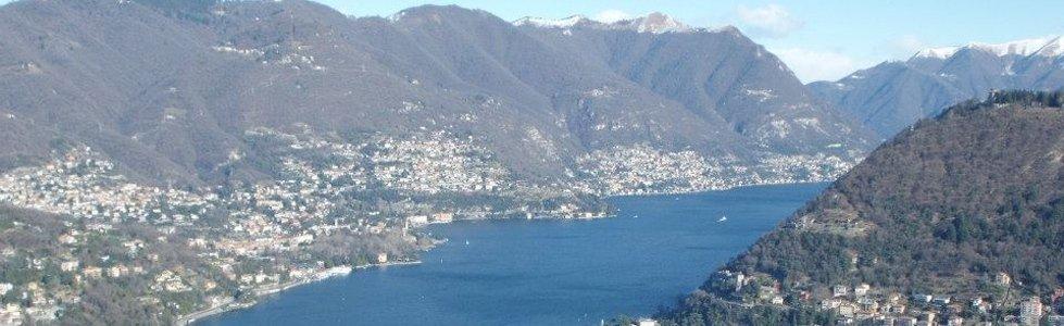 vista Lago di Como dalla Baita Monte Croce