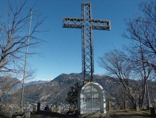 la Croce simbolo della baita