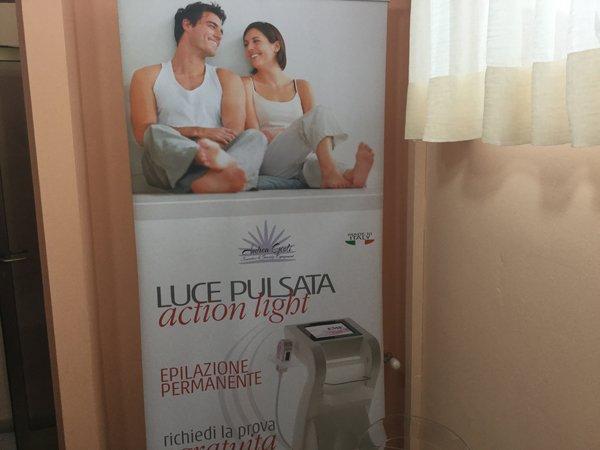 pubblicita trattamento di luce pulsata
