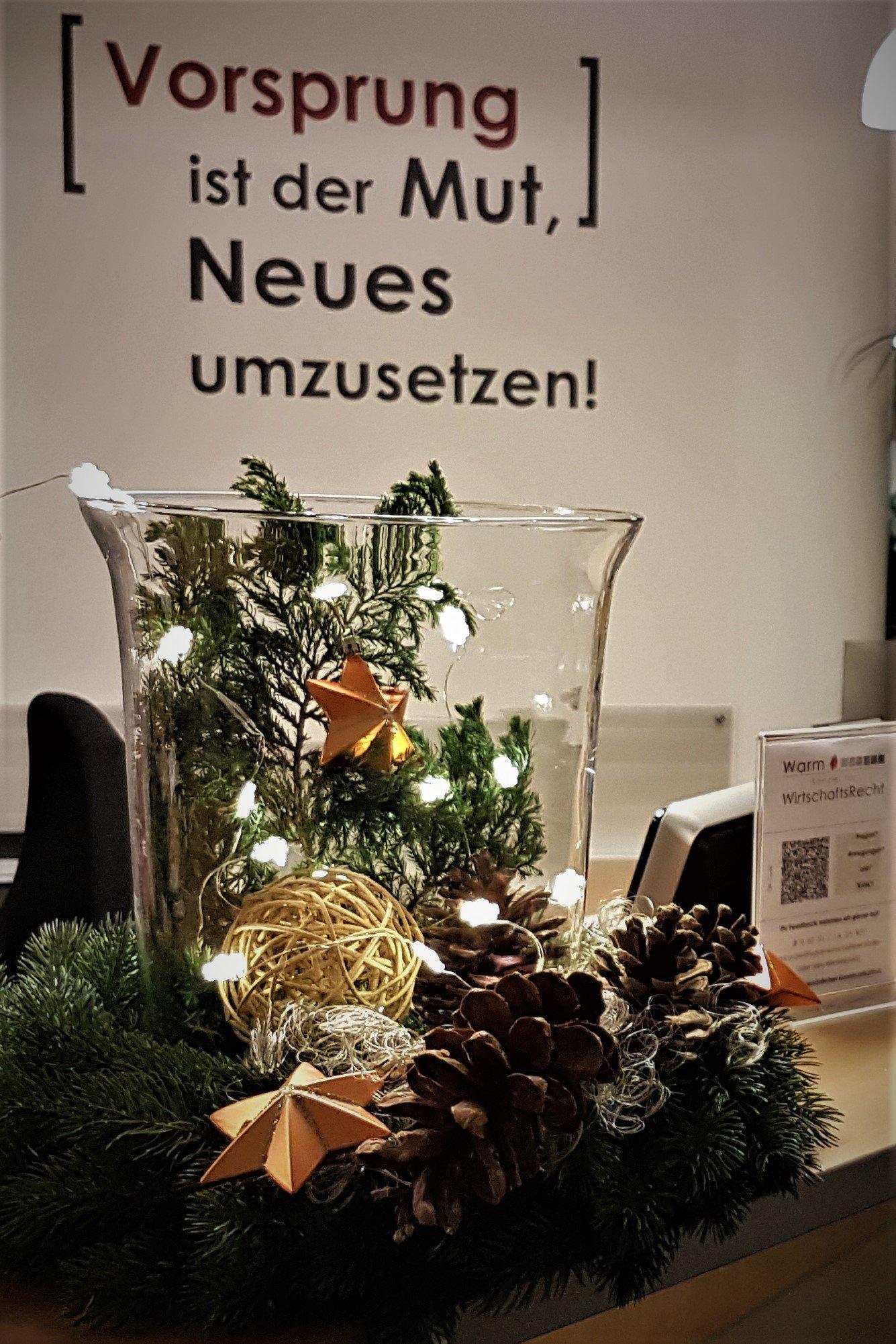 Frohe Weihnachten 2017, Warm & Kollegen Rechtsanwälte Paderborn