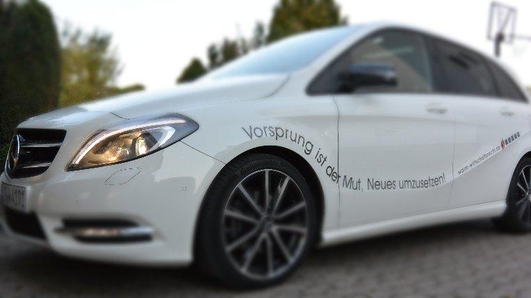 Mit dem Auto zur Kanzlei in Paderborn