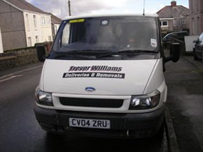 Domestic removals - Aberystwth, South Wales - Trevor Williams Deliveries - removal