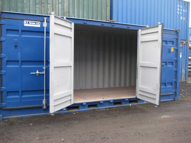 Full Side Access Container Hire Amp Sales Dundee Glasgow