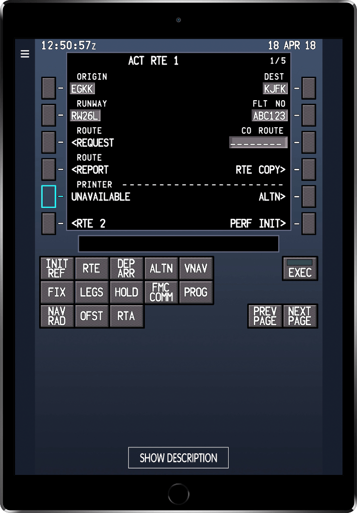 Boeing fmc Manual