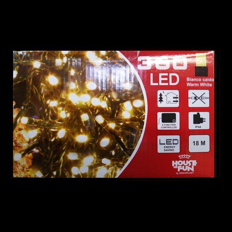 360 LED LUCE CALDA