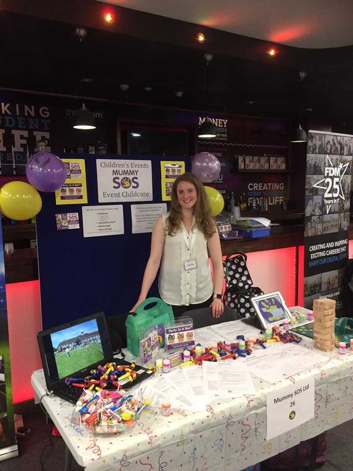 display stall at an event