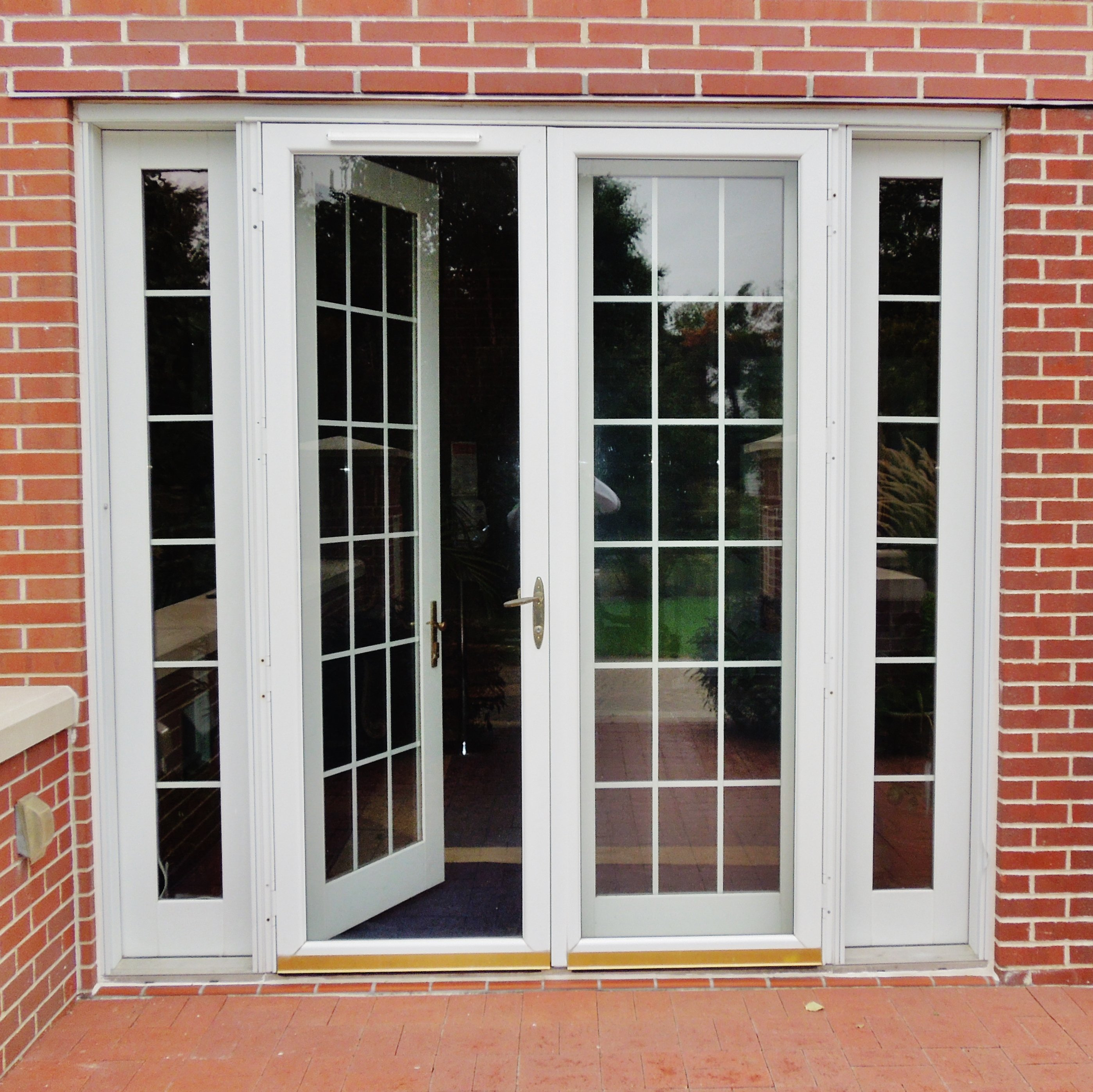 French Door Outside