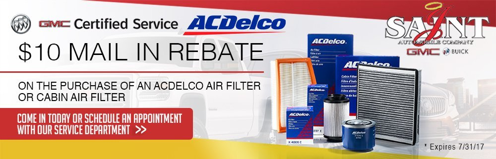 ACDELCO $10 Mail in Rebate