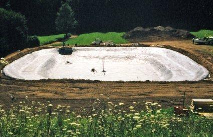 bacino per pesca sportiva