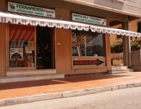 vista esterna del negozio FERRAMENTA CANTINI