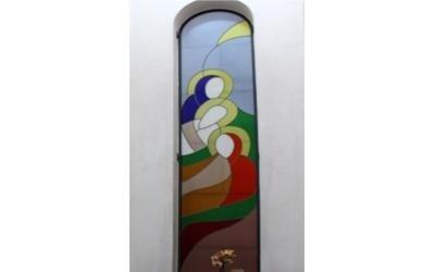 vetrate antisfondamento decorate fermo