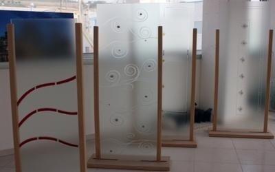 vetri per arredamento fermo