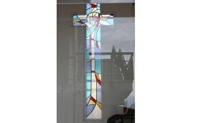 installazione vetrate per chiese fermo