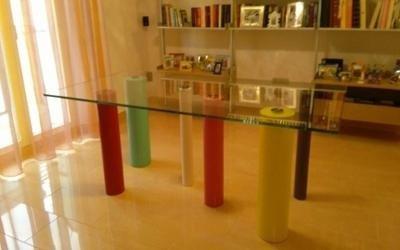 tavoli in vetro fermo