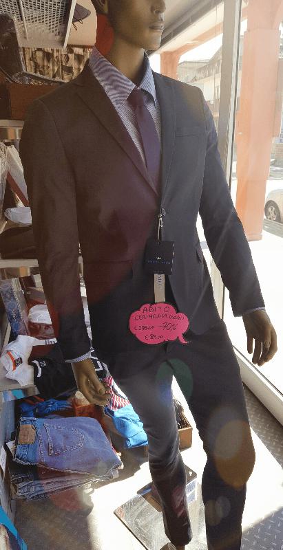 Promozione abito cerimonia uomo Made in Italy da €295,00 a € 89,00