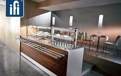 bancone in legno per ristorazione