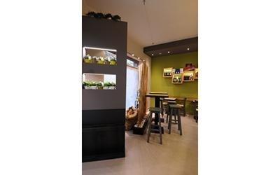 bar cactus e coffe arredamento